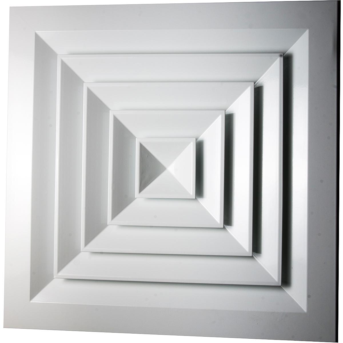 Диффузор квадратный
