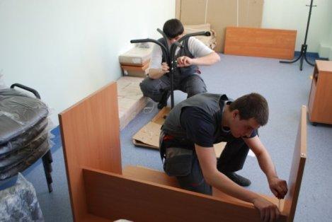 сборка при переезде мебели